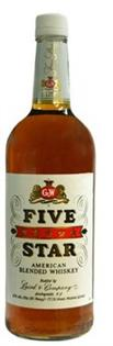 Five Star Whiskey 1.00l - Case of 12